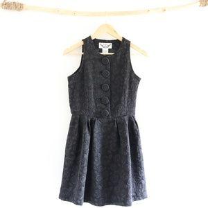 BB Dakota Oversize Button Vintage Inspired Dress